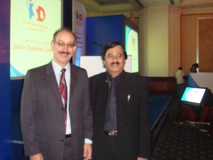 Dr Enrique from Joslin,USA & Dr Deepak K Jumani