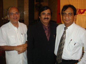 Dr Deepak K Jumani with Mind GOd Dr Jeetendra Adhia