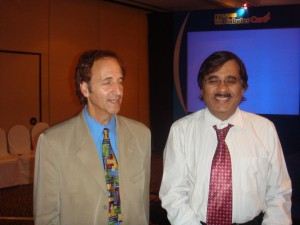 Dr Robert  Shanton of Joslin USA with Dr Deepak K Jumani
