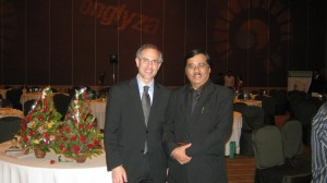 Dr Ian Blummer of Canadian Diabetes Association and Dr Deepak K Jumani