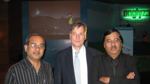 Dr Brian Bryzinski Global Medical Director Astra Zeneca, USA with Dr Deepak Jumani & Dr Haresh Jumani