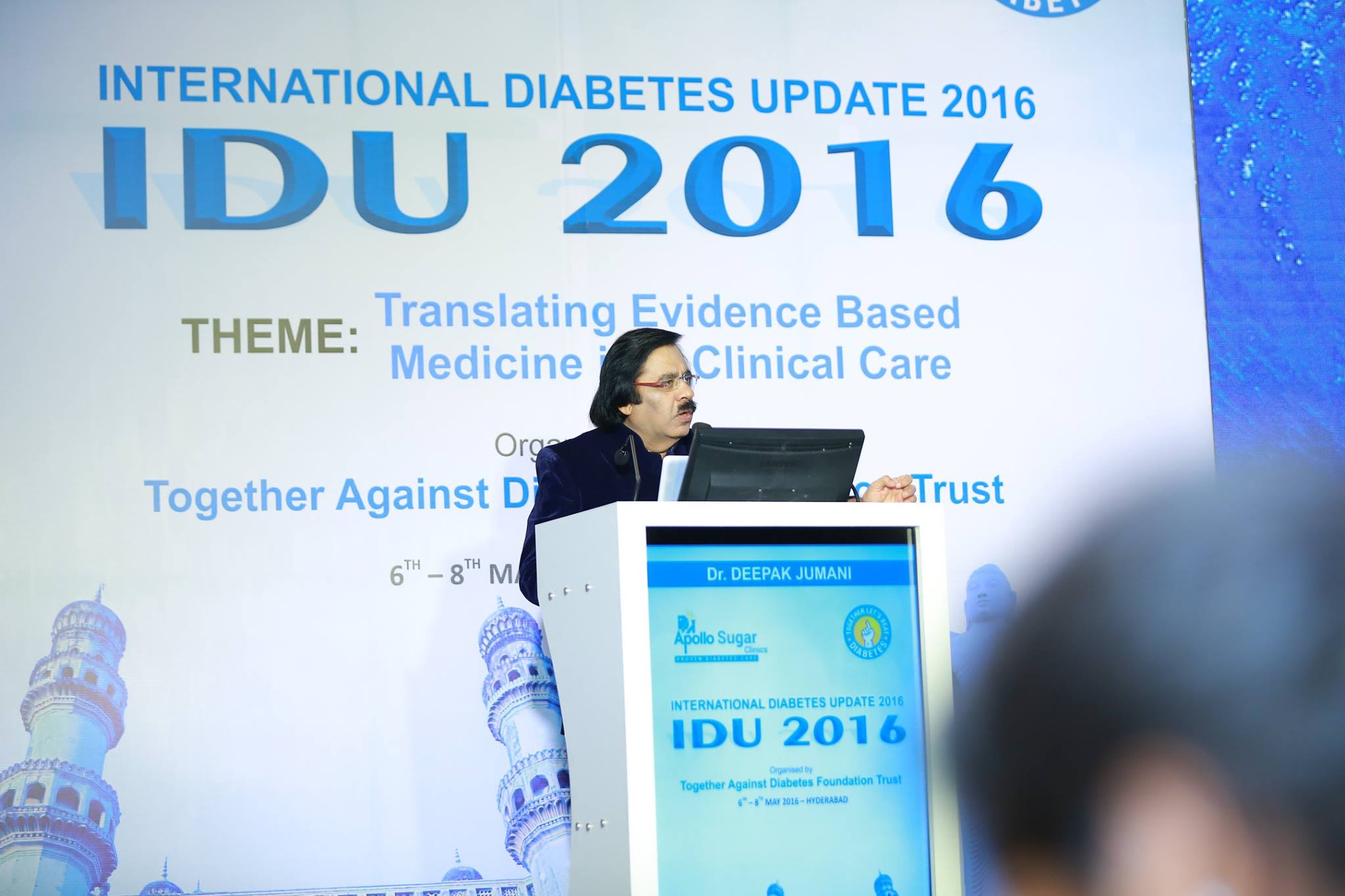 My Best Doctor » At International Update on Diabetes of